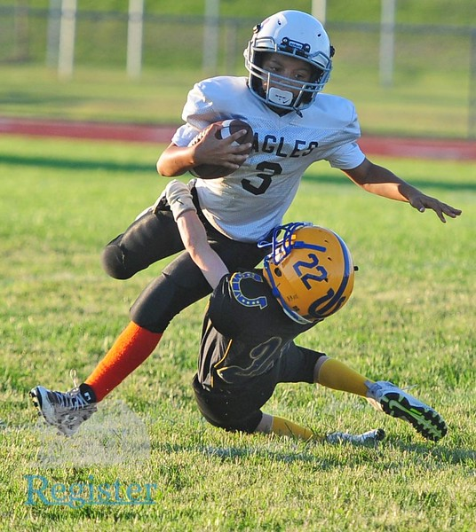 Iola youth football vs Uniontown 9/11
