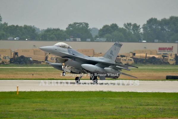 ANG F-16 Over Run