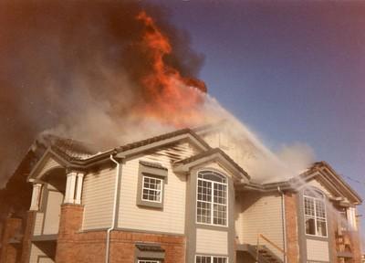 Bluffs at Highlands Ranch Fire