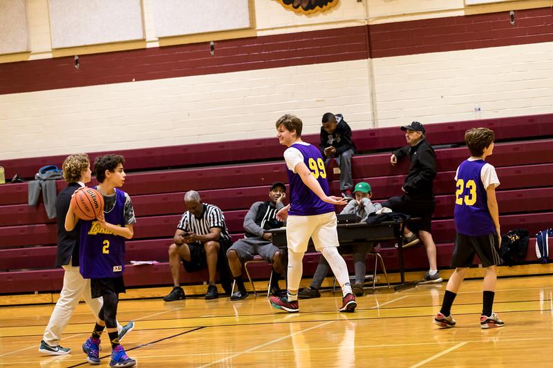 Basketball First game - 14U 2017-18