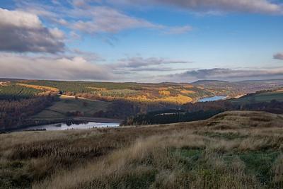 Derbyshire Autumn Landscape