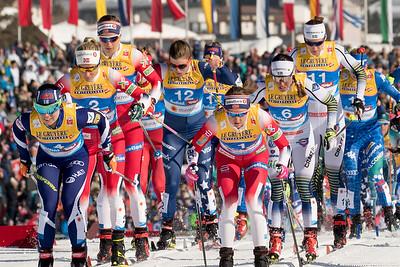 Seefeld 2019 Skiathlon Women 2.23.19