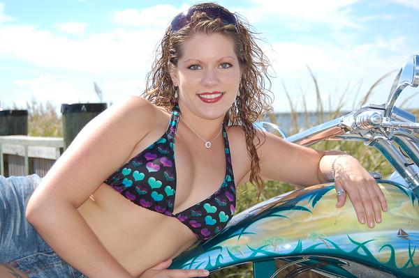 Jennifer A. Linehan - DelMarVa Bike Week/Bike Shoot/Ocean View - September 16, 2007 - Nikon D50 - Mark Teicher