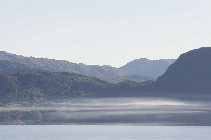 Along Hardangerfjorden.