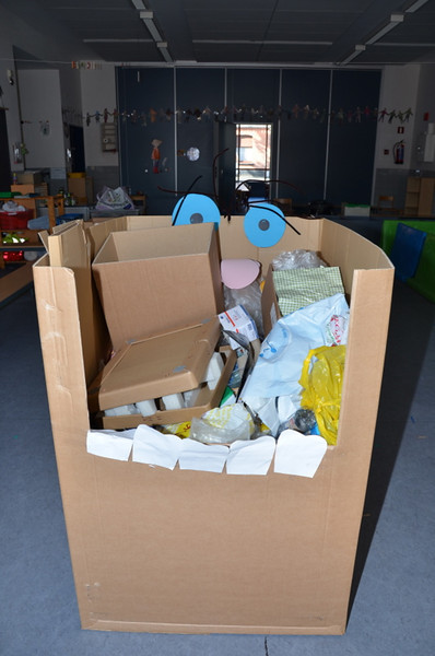 kleuters: afvalsorteerspel