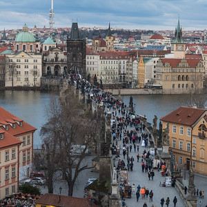 PRAGUE - VIEWS from ABOVE