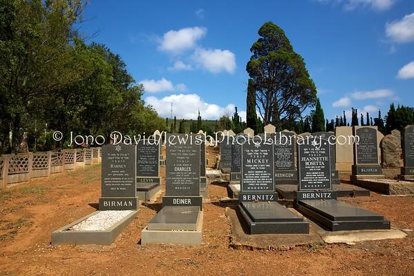 SOUTH AFRICA, Mpumalanga Province, Middelburg. Jewish Cemetery (2.2016)