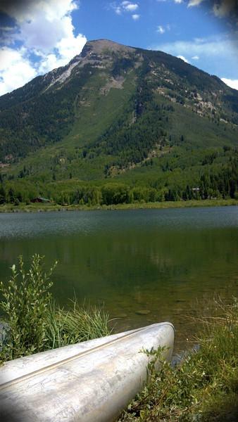 Beaver Lake at Marble,CO