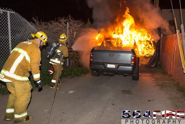 LAFD - Auto Fire - 1-31-16