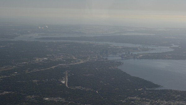 Coming Into Jacksonville, Florida