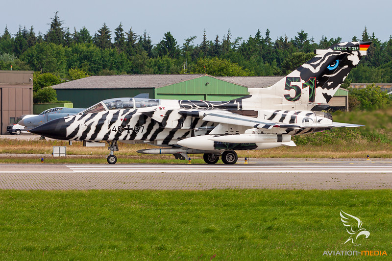 Germany - Air Force / Panavia Tornado ECR / 46+57