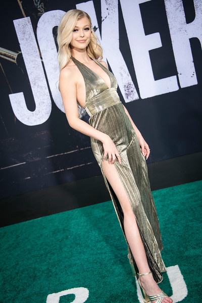"HOLLYWOOD, CALIFORNIA - SEPTEMBER 28: Loren Gray attends the premiere of Warner Bros Pictures ""Joker"" on Saturday, September 28, 2019 in Hollywood, California. (Photo by Tom Sorensen/Moovieboy Pictures)"