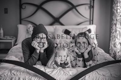 Bethany, Brennan & Evie Xmas