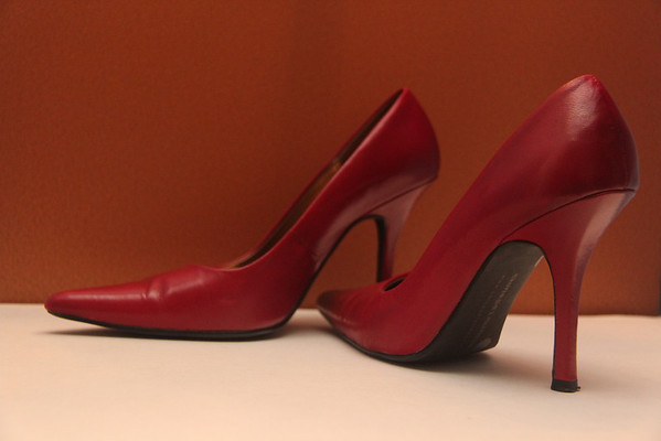4.18.13 Chinese Laundry High Heel Pumps (Red)