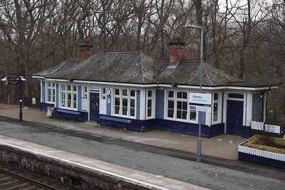 Pitlochry Railway Station - 17 March 2018