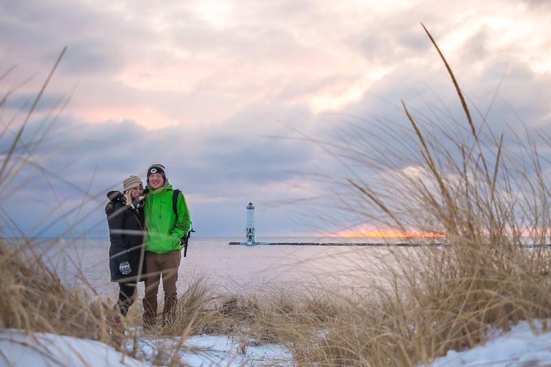 Frankfort Lighthouse Photo Story