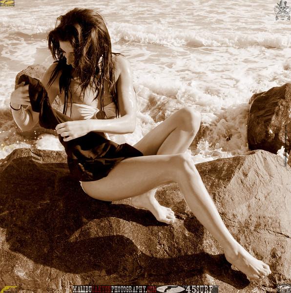 beautiful woman sunset beach swimsuit model 45surf 8054.56.456..