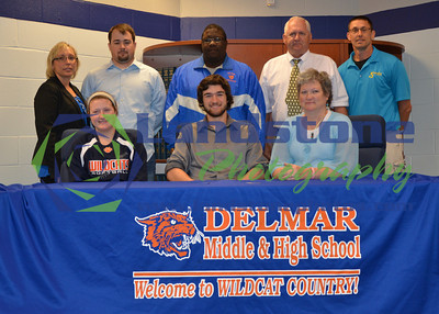 Delmar High School 2014 College Signings