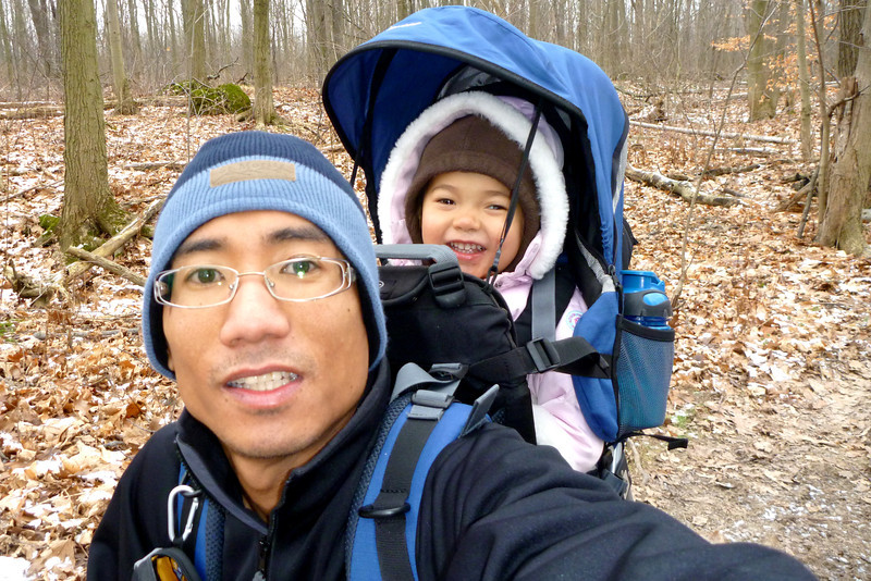 2012-Jan: Bruce trail hike