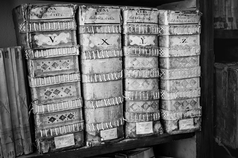 'The Annals of Time' - Siena City Archives, Tuscany, Italy