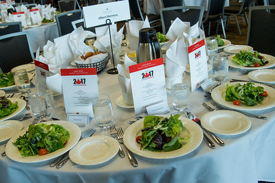 Lunch sponsored by Air Canada and Silversea Cruises