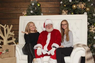 Santa at District 2019