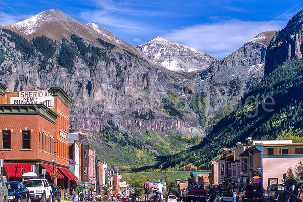 Telluride - Town & Nearby - & Bikers