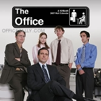 the office calendar front