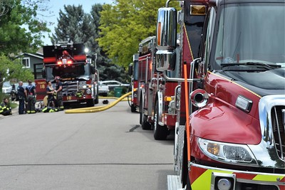 S. Platte Canyon Dr Home Fire