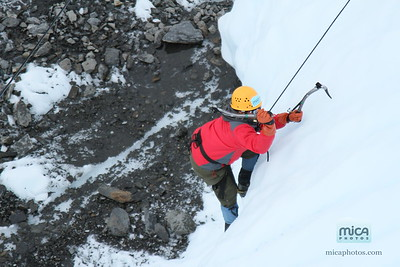 August 2nd - Gowtham's Ice Climb with Chris and Kelsey