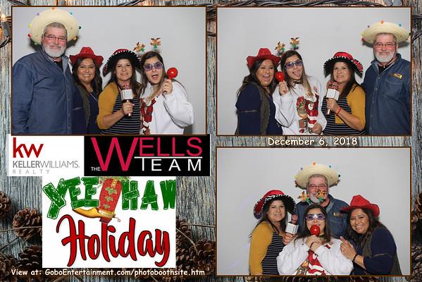 20181206 Wells Team YeeHaw Party!
