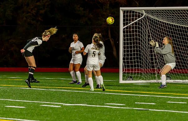 Set three: Vashon Island High School Girls Varsity Soccer v Annie Wright 10/30/2019