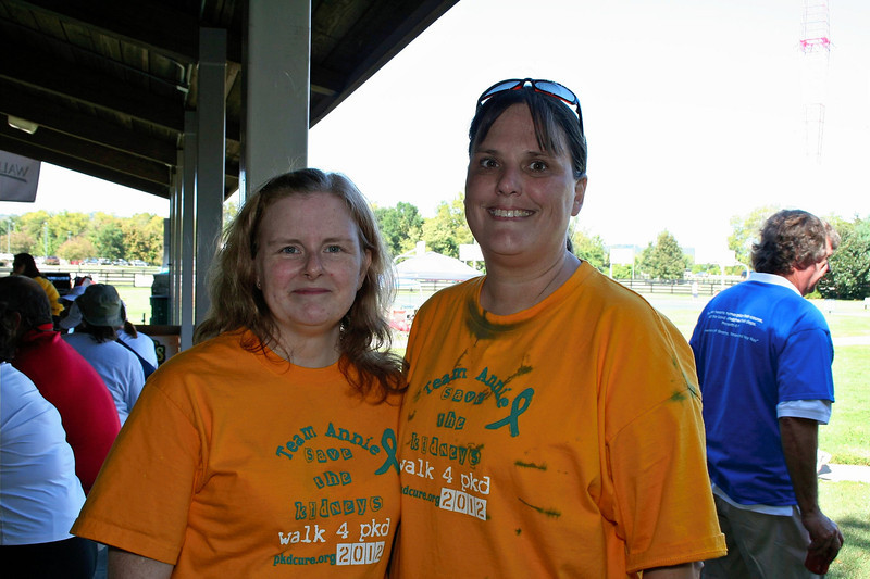 Ann & Chris, PKD Walk 2012