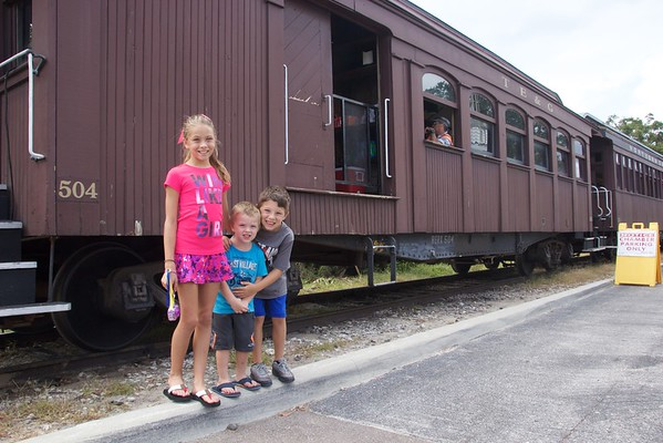 Mt Dora - Tavares Train Ride 6Nov16