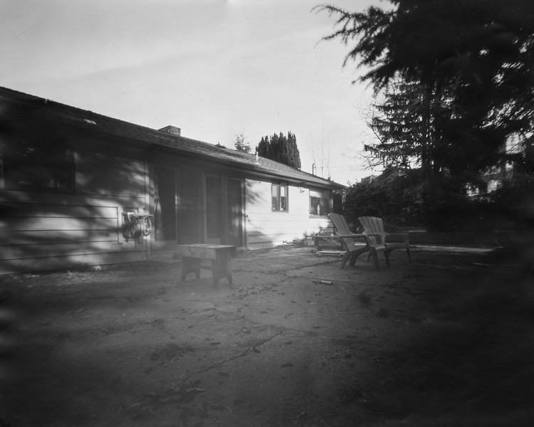 11x14 Pinhole on Photopaper