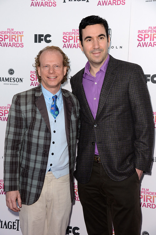 . SANTA MONICA, CA - FEBRUARY 23:  Producers Bruce Cohen (L) and Jonathan Gordon attend the 2013 Film Independent Spirit Awards at Santa Monica Beach on February 23, 2013 in Santa Monica, California.  (Photo by Frazer Harrison/Getty Images)