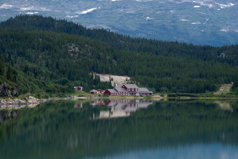 Bennett, Bennett Lake, Landscape, White Pass RR, Yukon