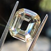 4.94ct Cushion Emerald Cut Diamond, GIA 6