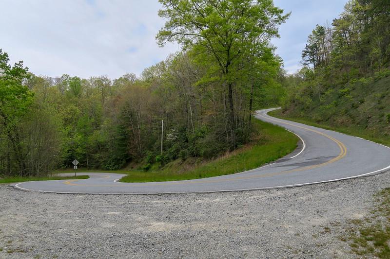 Reece Place Falls Interim Trailhead (East Fork Road) -- 2,700'