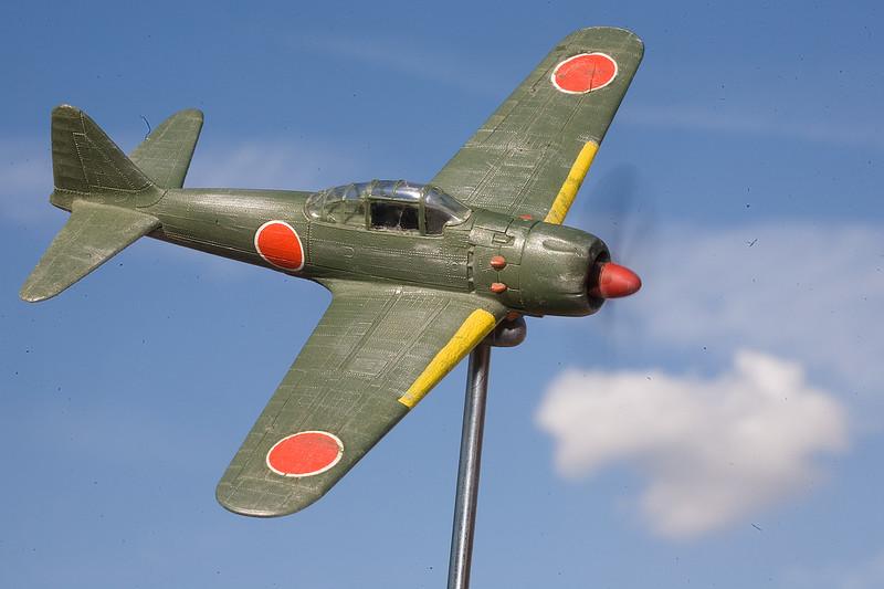 1/72 scale Mitsubishi A6M5 Zero
