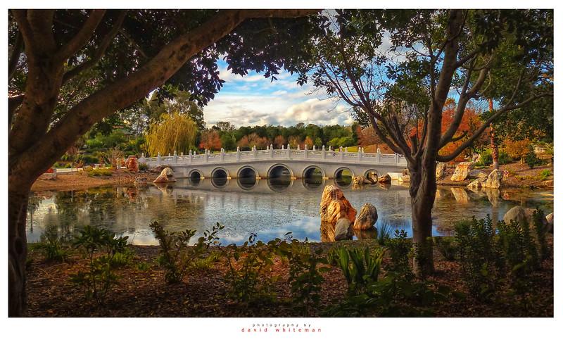 Chang Lai Yuan Gardens in Autumn