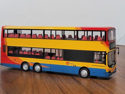 80M 80802 Citybus Scania K94UB Volgren Stagecoach style livery