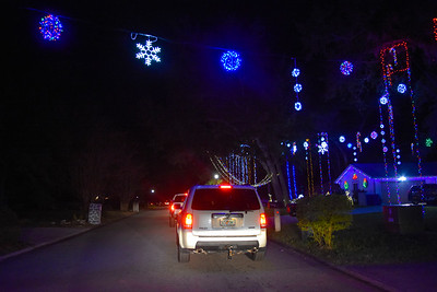 Blackhawk Bluff Christmas Lights