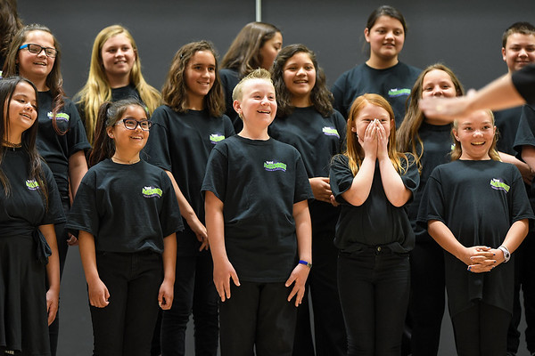 YIS Choir Performance in Fernley; April 24, 2018