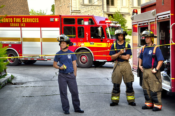 July 1, 2014 - Working Fire - 4 Luverne Ave.