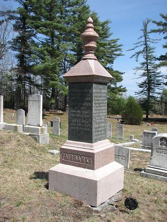 Nathaniel Fairbanks Grave