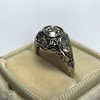 .80ct Vintage Old European Cut Diamond Dome Ring 20