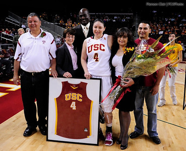 USC Women's Basketball v UW 2011