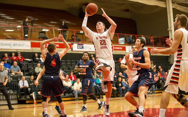 SCSU Men's Basketball 2015-16 vs. Northland