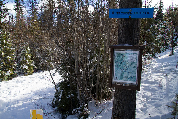 2018-01-20 Snow Hiking on Blewett Pass, Tronsen Loop Trails